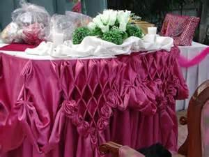 How To Make Buffet Table Skirting Table Skirting John Jordan Rojas Flickr