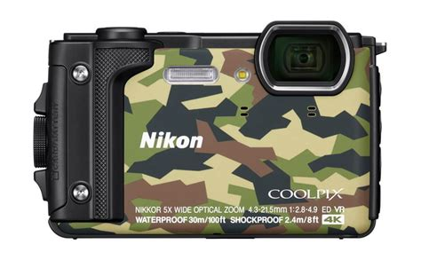 nikon coolpix w300 rugged compact with 4k recording announced 91mobiles