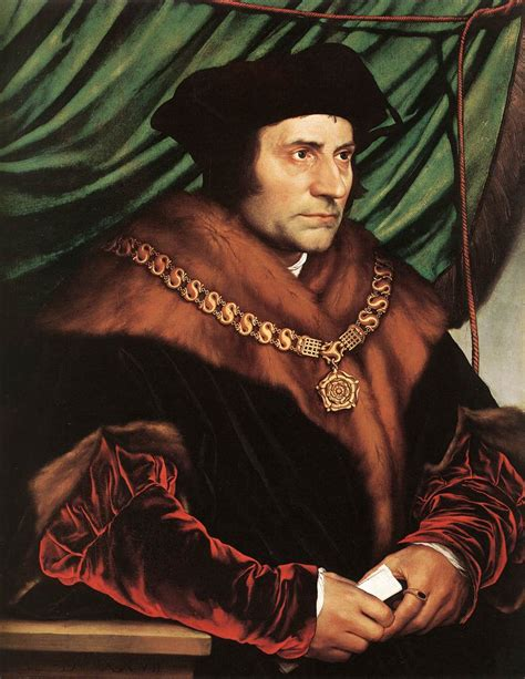 Saint Thomas More Famous Quotes Quotesgram More From