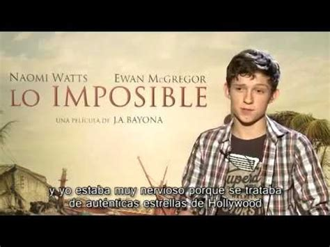 fsica de lo imposible entrevista exclusiva a tom holland youtube