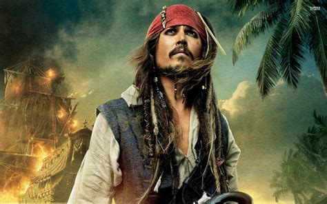 wallpaper keren jack sparrow johnny depp the pirates desktop background hd 1920x1200
