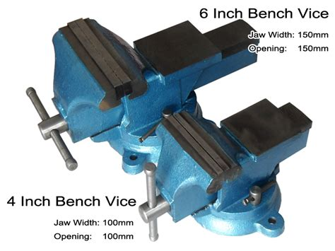 6 bench vice 6 inch heavy duty bench vice grip cl capacity 150mm