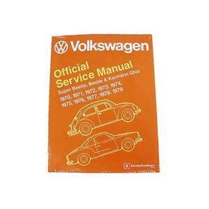 For Volkswagen Beetle Super Karmann Ghia Bentley Repair
