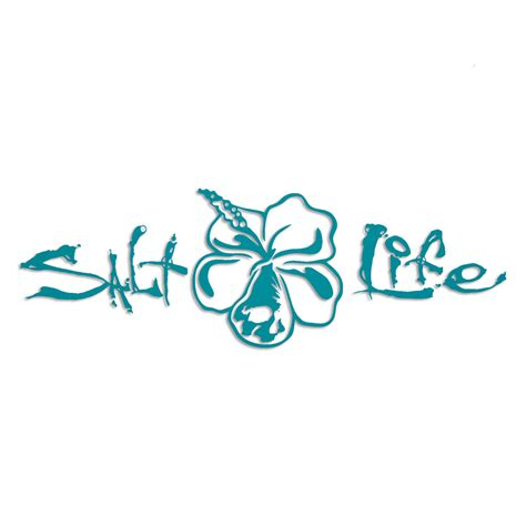 salt life small decal