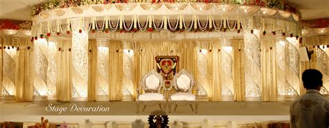 Simple Home Decoration For Engagement by Wedding Decoration In Chennai