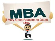 5 Reasons To Pursue An Mba by 21 Reasons Authorstream