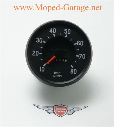 E Motorrad 80 Km H by Moped Garage Net Puch Monza Racing Tacho 80 Km H Mofa