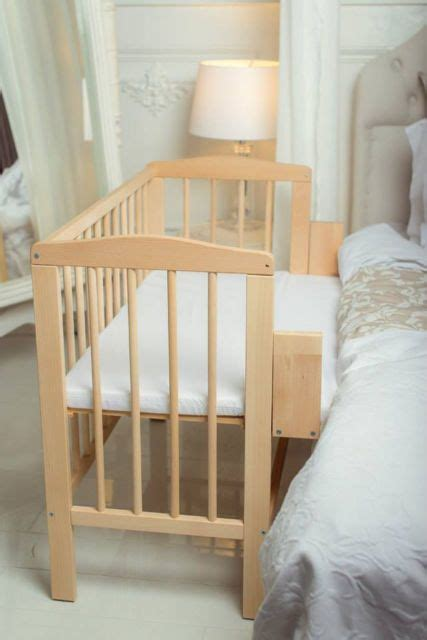 Co Sleeper Or Crib by Details About Baby Co Sleeper Crib Bedside Cot Bed Wooden