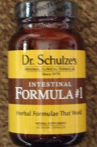 Dr Schulze Detox Reviews by 1 Dr Schulze S Intestinal Formula 1 New Glass Bottle