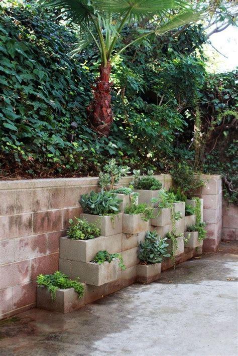 melanie bauer oneth cinder block planters