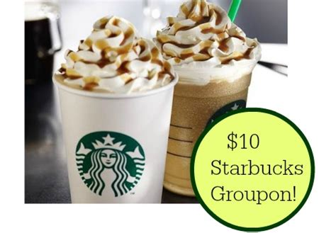 How Do Groupon Gift Cards Work - groupon starbucks deal 10 gift card for 5 southern
