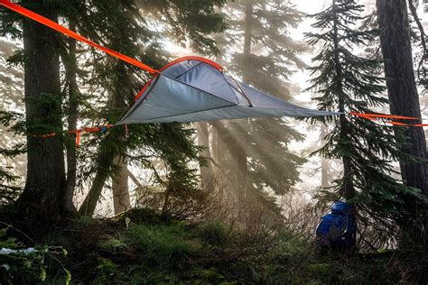 hanging tent flite tree tent an affordable hanging tent by tentsile