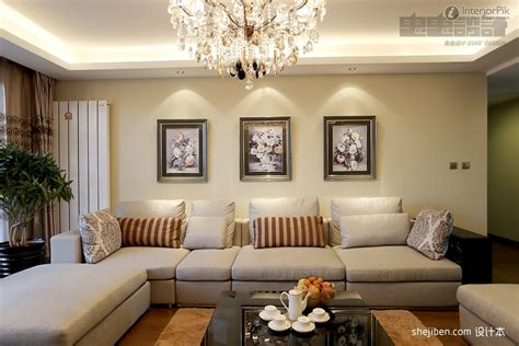design for rooms warm living room with intricate ceiling design and gentle