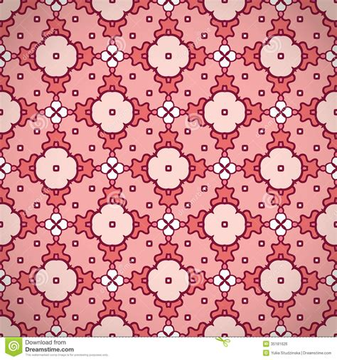 pattern motif xs pink pattern background stock vector image of element