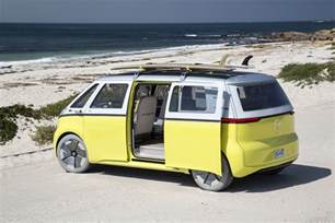 Electric Vehicles California Vw Announces Return Of The Minibus As An Electric