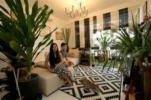 House And Home Decorating House Tour Five Room Executive Condo Apartment In A Chic Colonial Tropical Style Home Decor