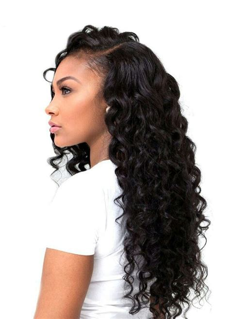 sew in weave hairstyles natural long short black hair 25 side part sew in styles and how to sew in tutorial