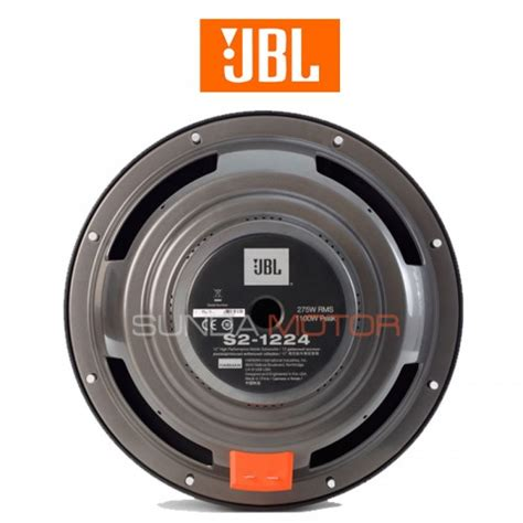 Jbl S2 1224 Subwoper 12 For Mobil subwoofer jbl s2 1224
