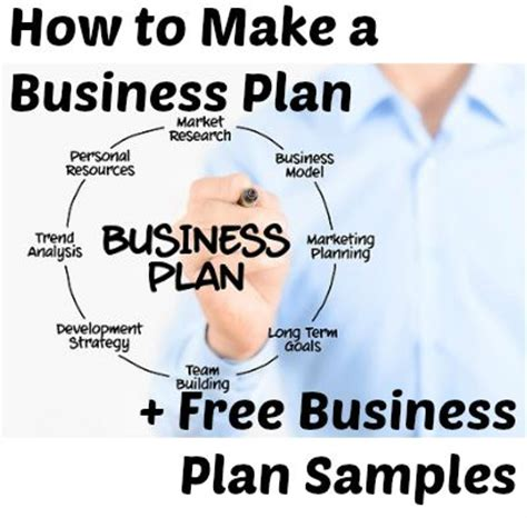 how to build a business plan template help me make a business plan
