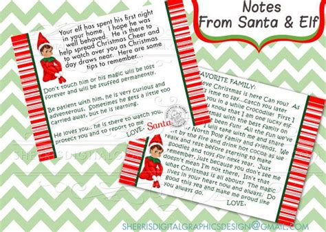 On The Shelf Notes From Santa by 33 Best Images About On
