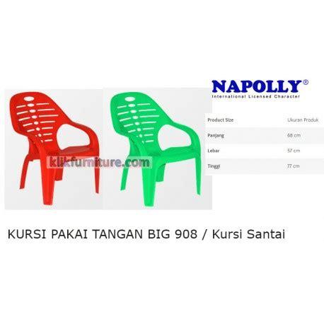 Cek Kursi Plastik big 908 napolly kursi tangan santai plastik harga promosi