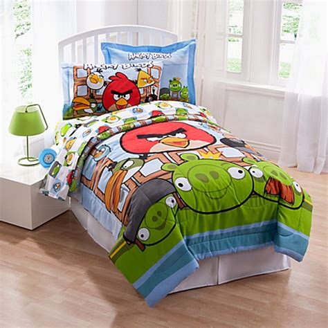 Angry Birds Bed Set Angry Birds Comforter Set Bed Bath Beyond