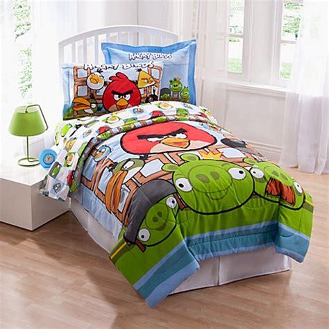 Bed Comforta Angry Bird angry birds comforter set bed bath beyond