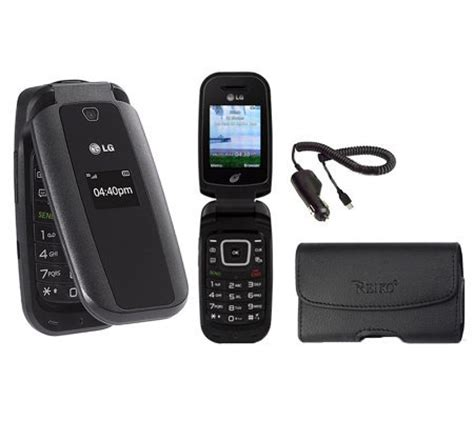 tracfone lg flip phone lg 440 compact flip tracfone page 1 qvc com