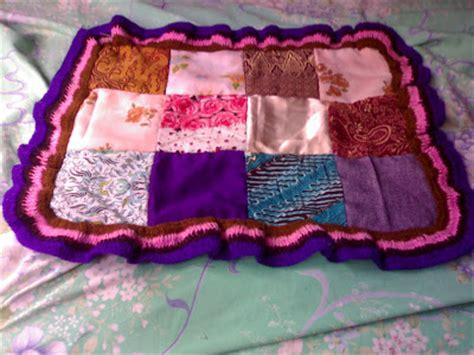 cara membuat kerajinan tangan kain perca cara membuat taplak meja dari kain perca art energic