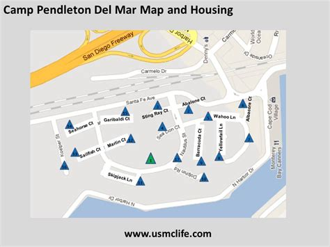 c pendleton base housing floor plans del mar military housing map at c pendleton officers
