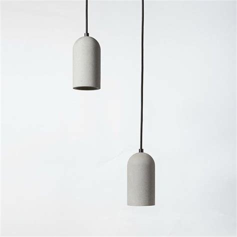 concrete ceiling lighting concrete pendant liked on polyvore featuring home