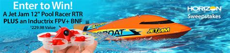Horizon Hobby Sweepstakes - rc sweepstakes horizon hobby by blade pro boat