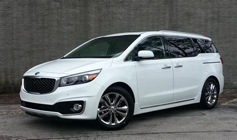 kia minivan price test drive 2016 kia sedona sx l limited the daily drive