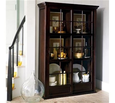 pottery barn china cabinet china cabinet pottery barn home