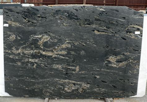 Granite Slabs Black Cosmic Granite Slab Polished Black Brazil Fox Marble