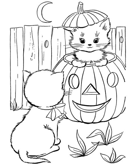 Holloween Color Pages coloring pages free printable