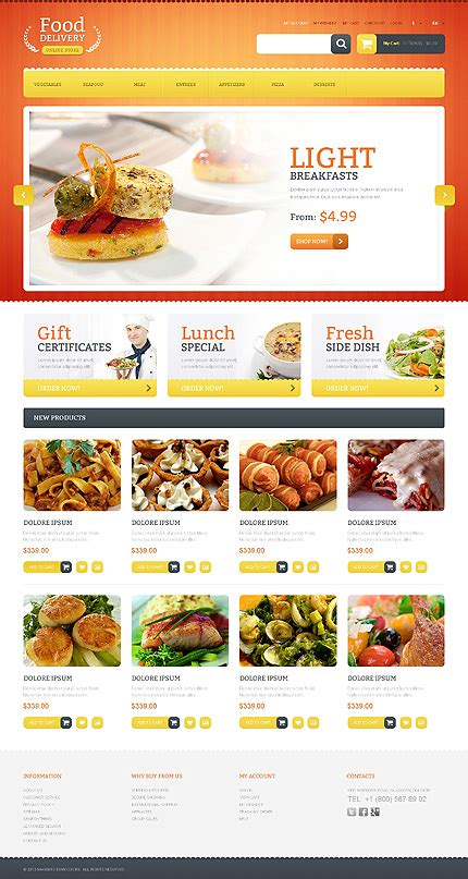 Food Delivery Magento Theme Properhost Grocery Delivery Website Template