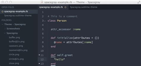 sublime text 3 xcode theme 10 beautiful free themes for sublime text