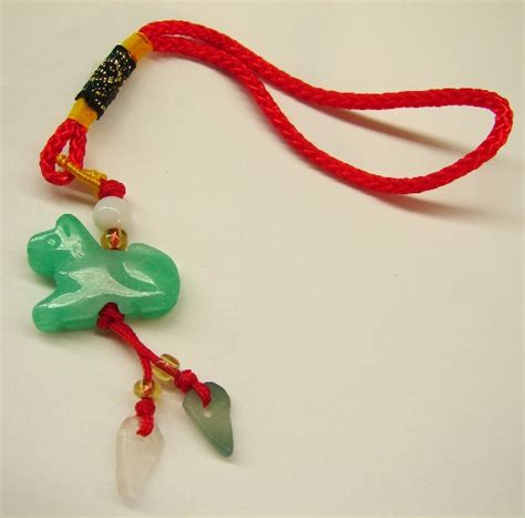 Jade Lucky Charms   Chinese Dog Charms