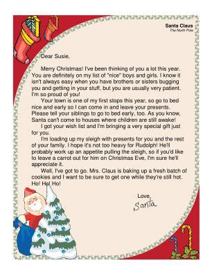 free editable printable letter from santa santa letter printable editable search results