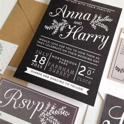 chalkboard invitations template chalkboard wedding invitation by pear paper co