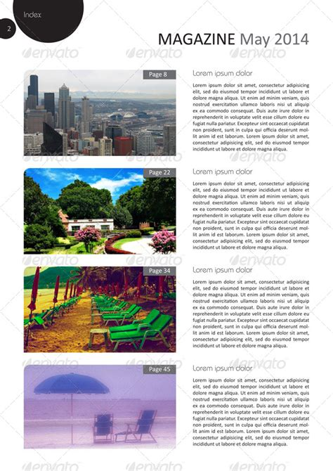 pages magazine template 24 pages magazine template in a4 format by grga atree