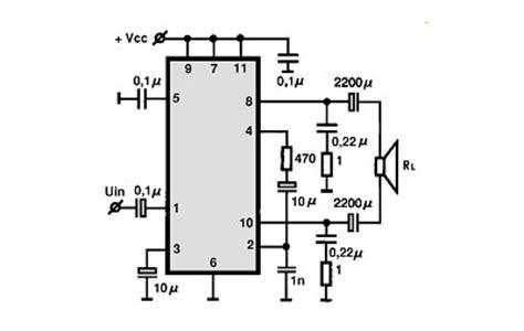 tda btl circuitos integrados  audio utilizacao