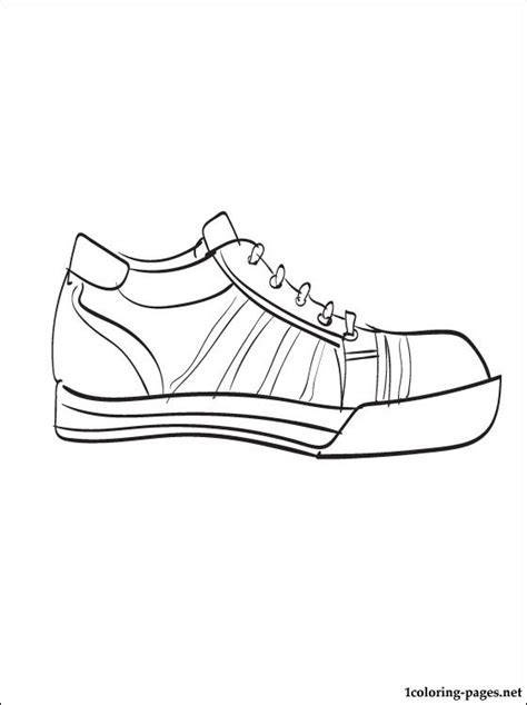 sneaker coloring book converse sneaker coloring page coloring pages