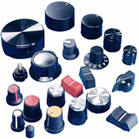 Knobs For Electronics by Cliff Electronic Components And Connectors Sockets