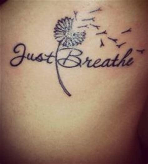just breath art tattoo