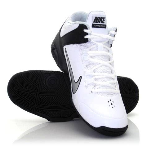 nike pro basketball shoes buy nike air visi pro iv mens basketball shoes white