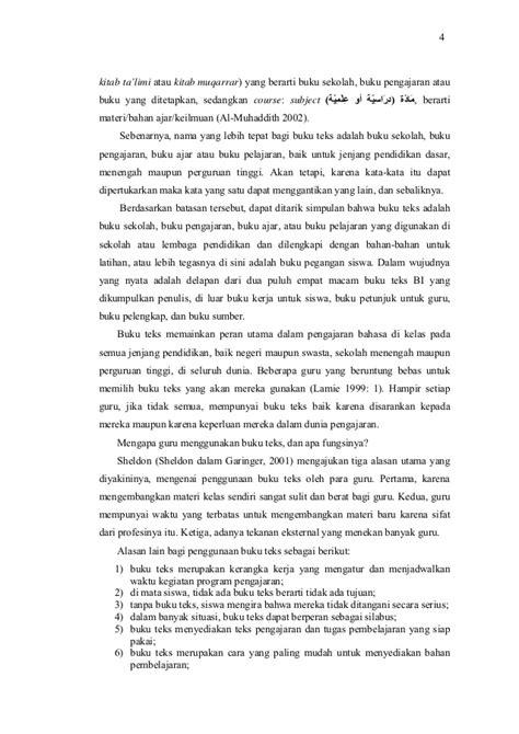 Penulisan Buku Teks Pelajaran penulisan buku teks bahasa yang berkualitas
