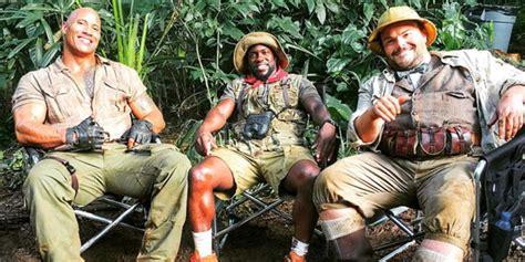 jumanji nuovo film jumanji welcome to the jungle il cast presenta il