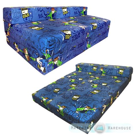 folding bed for kid children s kids foldout double mattress sofa bed futon
